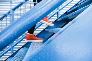 What is meant by the Coaching Stairs?